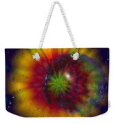 Cosmic Light Weekender Tote Bag by Linda Sannuti