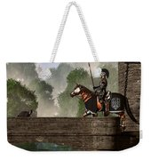 Guards Of The Forgotten Gate Weekender Tote Bag by Daniel Eskridge