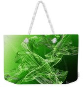 Krypton Lace Weekender Tote Bag by Andee Design