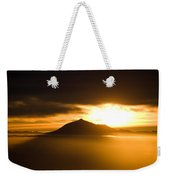 sunrise behind Mount Teide Weekender Tote Bag by Ralf Kaiser