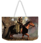 The Golden Knight And His Lady Weekender Tote Bag by Daniel Eskridge