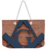 The Letter G Weekender Tote Bag by Nikki Marie Smith