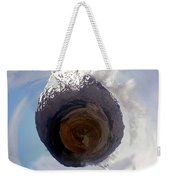 Wee Tongariro Volcanoes Weekender Tote Bag by Nikki Marie Smith
