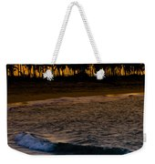 Sunset At The Beach Weekender Tote Bag by Sebastian Musial