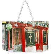 Old Pharmacy Weekender Tote Bag by Tomas Castano
