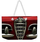 Alfa Red Weekender Tote Bag by Douglas Pittman