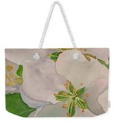 Apple Blossoms Weekender Tote Bag by Sharon E Allen