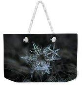 Snowflake Of 19 March 2013 Weekender Tote Bag by Alexey Kljatov