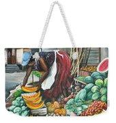 Caribbean Market Day Weekender Tote Bag by Karin  Dawn Kelshall- Best