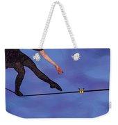 Catching Butterflies Weekender Tote Bag by Steve Karol