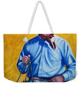 Happy Trails Weekender Tote Bag by Shannon Grissom