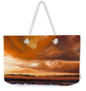 Jetties On The Shore Weekender Tote Bag by James Christopher Hill