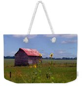 Kansas Landscape Weekender Tote Bag by Steve Karol
