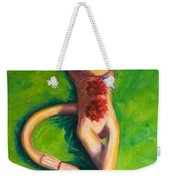 Life Is Good Weekender Tote Bag by Shannon Grissom