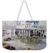 Maritim Club Castro Urdiales Weekender Tote Bag by Tomas Castano