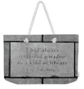 Paradise For Some Weekender Tote Bag by Angelina Vick