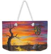 Planet Px7 Weekender Tote Bag by Roz Eve