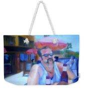 Pub Weekender Tote Bag by Sheila Mashaw