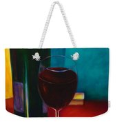 Shannon's Red Weekender Tote Bag by Shannon Grissom
