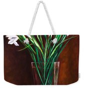 Simply Iris Weekender Tote Bag by Shannon Grissom