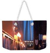 St. Louis Arch Weekender Tote Bag by Steve Karol