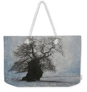 Stilton Silhouette Weekender Tote Bag by Leah  Tomaino