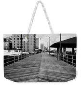 The Boardwalk Weekender Tote Bag by Linda Sannuti