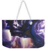 The Lightning Weekender Tote Bag by James Christopher Hill