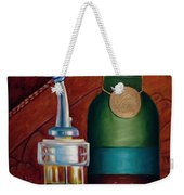 Three Million Net Weekender Tote Bag by Shannon Grissom