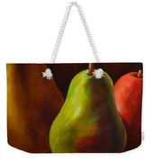 Tri Pear Weekender Tote Bag by Shannon Grissom