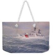 U. S. Coast Guard Cutter Gallitin Weekender Tote Bag by William H RaVell III