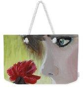 Wedding Rose Weekender Tote Bag by J Bauer