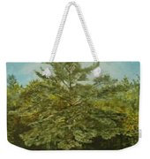 White Lake Weekender Tote Bag by Leah  Tomaino