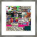 Atomic Bomb Of Purity 2 Framed Print by David Baruch Wolk