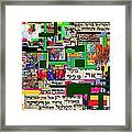 Atomic Bomb Of Purity 2d Framed Print by David Baruch Wolk