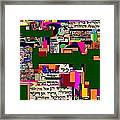 Atomic Bomb Of Purity 5a Framed Print by David Baruch Wolk