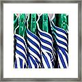 Men's Shirts Framed Print by Tom Gowanlock