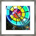 Plearnwan Eye Framed Print by Suradej Chuephanich