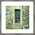 Window Framed Print by Tom Gowanlock