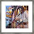 Music City Usa Framed Print by Brian Jannsen