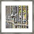Old Gate Framed Print by Tom Gowanlock