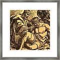 The Good Samaritan Framed Print by English School