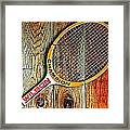 70s Champion Framed Print by Benjamin Yeager