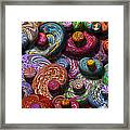 Abstract - Beans Framed Print by Mike Savad