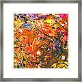 Abstract - Crayon - The Excitement Framed Print by Mike Savad