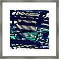 Abstract Reflection 6 Framed Print by Sarah Loft