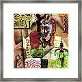 Afro Aesthetic A  Framed Print by Everett Spruill
