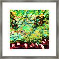 Alligator 20130702 Framed Print by Wingsdomain Art and Photography