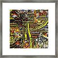 An Exercise In Yellow Framed Print by Michael Kulick