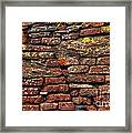 Ancient Wall Framed Print by Carlos Caetano